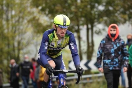Gios Kiwi Atlántico, el equipo de ciclismo con sede en Vigo