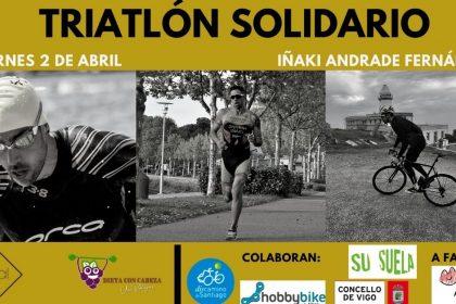 Triatlón solidario a favor de Bicos de Papel