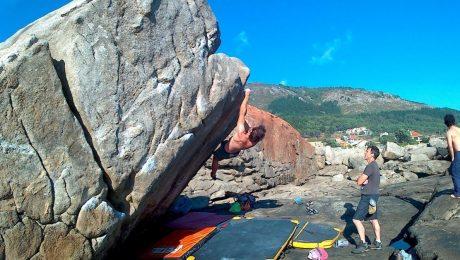 Actividad de iniciación a la escalada - Búlder